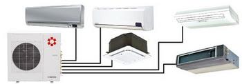 Мульти сплит-системы, к которым можно подключить до пяти внутренних блоков, отличают свободное комбинирование...